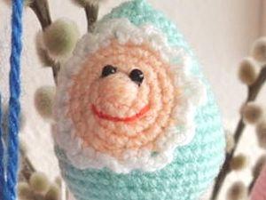 Пасхальные яйца-малютки  handmade