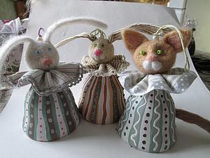 Мартовские зайцы и... один мартовский кот. Ярмарка Мастеров - ручная работа, handmade.