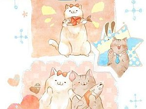 Истории про кошек | Ярмарка Мастеров - ручная работа, handmade