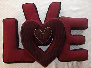 Мои буквы LOVE на Главной!!!!!   Ярмарка Мастеров - ручная работа, handmade