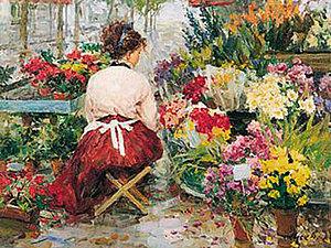 Расцвели цветочки у меня в садочке...   Ярмарка Мастеров - ручная работа, handmade