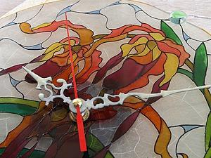 Мастер-класс: роспись стеклянных часов. Ярмарка Мастеров - ручная работа, handmade.