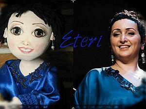 Текстильный шарнирчик - Этери Бериашвили родилась у меня | Ярмарка Мастеров - ручная работа, handmade
