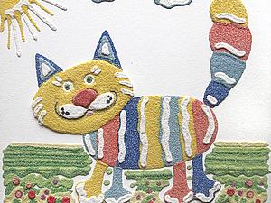 Детские мастер-классы по Кварцевой живописи (рисунок песком)  для детей (Мытищи)   Ярмарка Мастеров - ручная работа, handmade