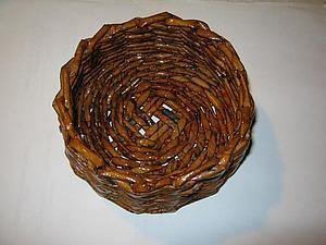 плетение из лозы корзинки своими руками пошаговая инструкция - фото 8