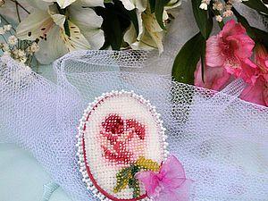 К большому празднику создаем маленькую пасхальную брошь   Ярмарка Мастеров - ручная работа, handmade