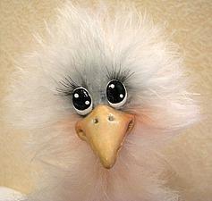 Мастерим «Чудо-птичку» из пушистой пряжи | Ярмарка Мастеров - ручная работа, handmade