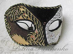 Карнавальные маски, декор маски тканью. | Ярмарка Мастеров - ручная работа, handmade