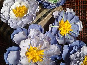 Создаем с детьми цветы из мятой бумаги. Ярмарка Мастеров - ручная работа, handmade.
