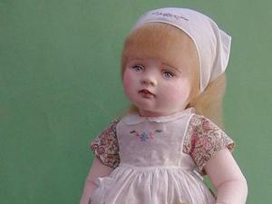 Текстильные куклы бывают и такими! или Прекрасные работы Терезы Кюрхер. Ярмарка Мастеров - ручная работа, handmade.