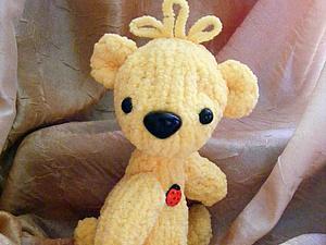 Плюшевый мишка спицами. Ярмарка Мастеров - ручная работа, handmade.