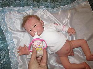 Малыш Андрюшенька - кукла реборн Инны Богдановой | Ярмарка Мастеров - ручная работа, handmade