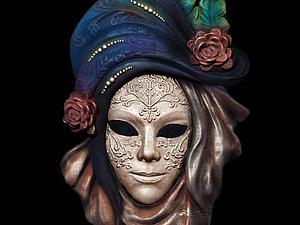 Изготавливаем маску в венецианском стиле с применением 3D технологий. Часть 1. Ярмарка Мастеров - ручная работа, handmade.