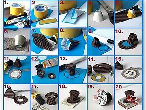 Шляпка для игрушки за 15 минут. Ярмарка Мастеров - ручная работа, handmade.
