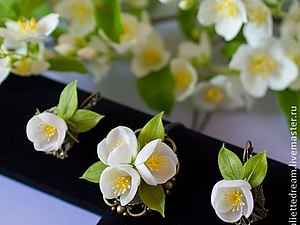 Жасмин — цветок любви | Ярмарка Мастеров - ручная работа, handmade