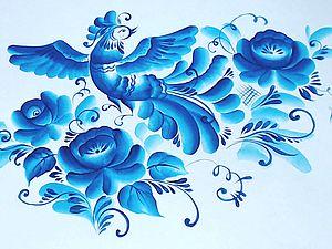 Птичка и цветы. Часть 2.. Ярмарка Мастеров - ручная работа, handmade.