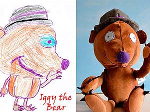 Мягкие игрушки из детских рисунков | Ярмарка Мастеров - ручная работа, handmade