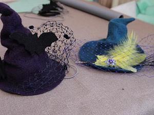 Валяем к Хэллоуину: ведьминская шапочка с метелкой. Часть 2: сборка. Ярмарка Мастеров - ручная работа, handmade.
