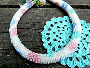Вязание жгутов из бисреа | Ярмарка Мастеров - ручная работа, handmade
