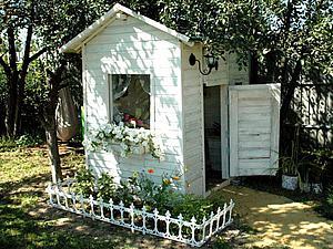 Создаем уютный игровой домик для детей. Ярмарка Мастеров - ручная работа, handmade.