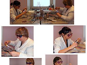 Групповое занятие lampwork (1-е базовое обучение) | Ярмарка Мастеров - ручная работа, handmade