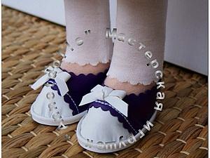 Как сделать туфельки для куколки. Ярмарка Мастеров - ручная работа, handmade.