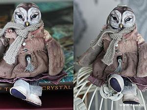 Будуарная кукла-сова (3 занятия). | Ярмарка Мастеров - ручная работа, handmade