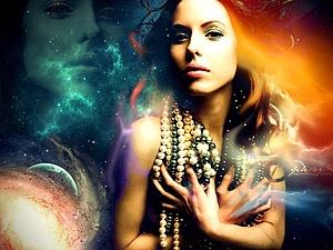 Какая она, девушка с планеты Меркурий? | Ярмарка Мастеров - ручная работа, handmade