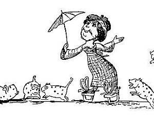 Лимерики! Симпатичная леди с атлантики.... | Ярмарка Мастеров - ручная работа, handmade