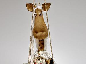 Мастер-класс по чердачной кукле жирафе   Ярмарка Мастеров - ручная работа, handmade