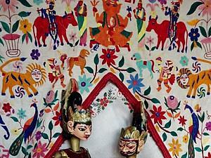 Диковинные куклы-марионетки театра ваянг-голек. Ярмарка Мастеров - ручная работа, handmade.