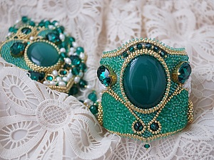 Аукцион!!! Кулон и браслет!!!   Ярмарка Мастеров - ручная работа, handmade