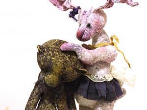 Трогательные фотографии Алисы и Баклажана :)))   Ярмарка Мастеров - ручная работа, handmade
