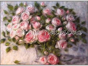 Мастер-класс по живописи сухой шерстью   Ярмарка Мастеров - ручная работа, handmade