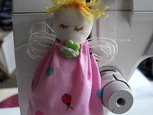Новогодний ангелочек   Ярмарка Мастеров - ручная работа, handmade