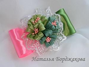 Скрученный листочек, handmade