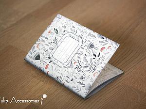 Шьем стильную тетрадь за 15 минут. Ярмарка Мастеров - ручная работа, handmade.