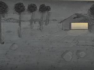 Необычные картины Майкла Редкера (Michael Raedecker)   Ярмарка Мастеров - ручная работа, handmade