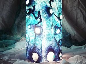 Луч света. Войлочный светильник   Ярмарка Мастеров - ручная работа, handmade