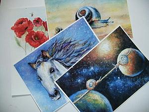 Авторские репродукции  картин в технике акварели. | Ярмарка Мастеров - ручная работа, handmade