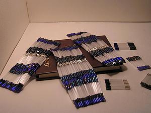 Перегородчатый стеклярус. Техника плетения перегородок из стекляруса. Ярмарка Мастеров - ручная работа, handmade.