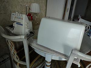 Доска-выручалочка в уголке рукоделия: моя хитрость по обустройству рабочего места в однокомнатной квартире. Ярмарка Мастеров - ручная работа, handmade.