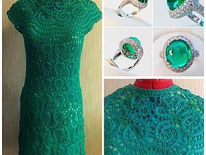 Зеленое платье брюгге+ топ