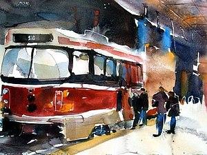 Любите ли вы трамваи так...))) | Ярмарка Мастеров - ручная работа, handmade