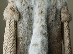 Девайсы для куртки из рыси. | Ярмарка Мастеров - ручная работа, handmade
