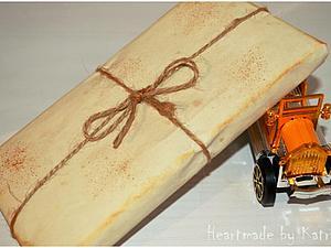 Простой способ состарить бумагу. Ярмарка Мастеров - ручная работа, handmade.