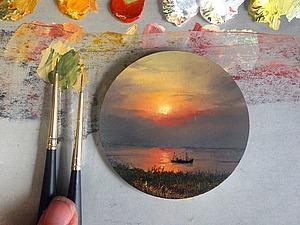 Реалистичная живопись в миниатюрах Diana Brodsky | Ярмарка Мастеров - ручная работа, handmade
