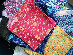Отдам даром лоскуты разной ткани,г.СПб,Пушкин;Самовывоз | Ярмарка Мастеров - ручная работа, handmade