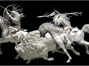 Бумажные скульптуры Аллена и Пэтти Экман | Ярмарка Мастеров - ручная работа, handmade