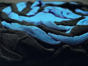 Вязаные пуфы Monomoka | Ярмарка Мастеров - ручная работа, handmade